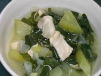Chicken Dinola (Filipino Chicken Papaya Soup)